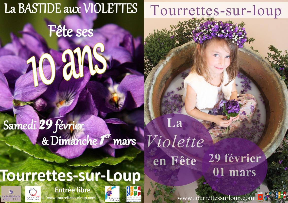 Среди фиалок во Франции — Карнавал в Турет-сюр-Лу